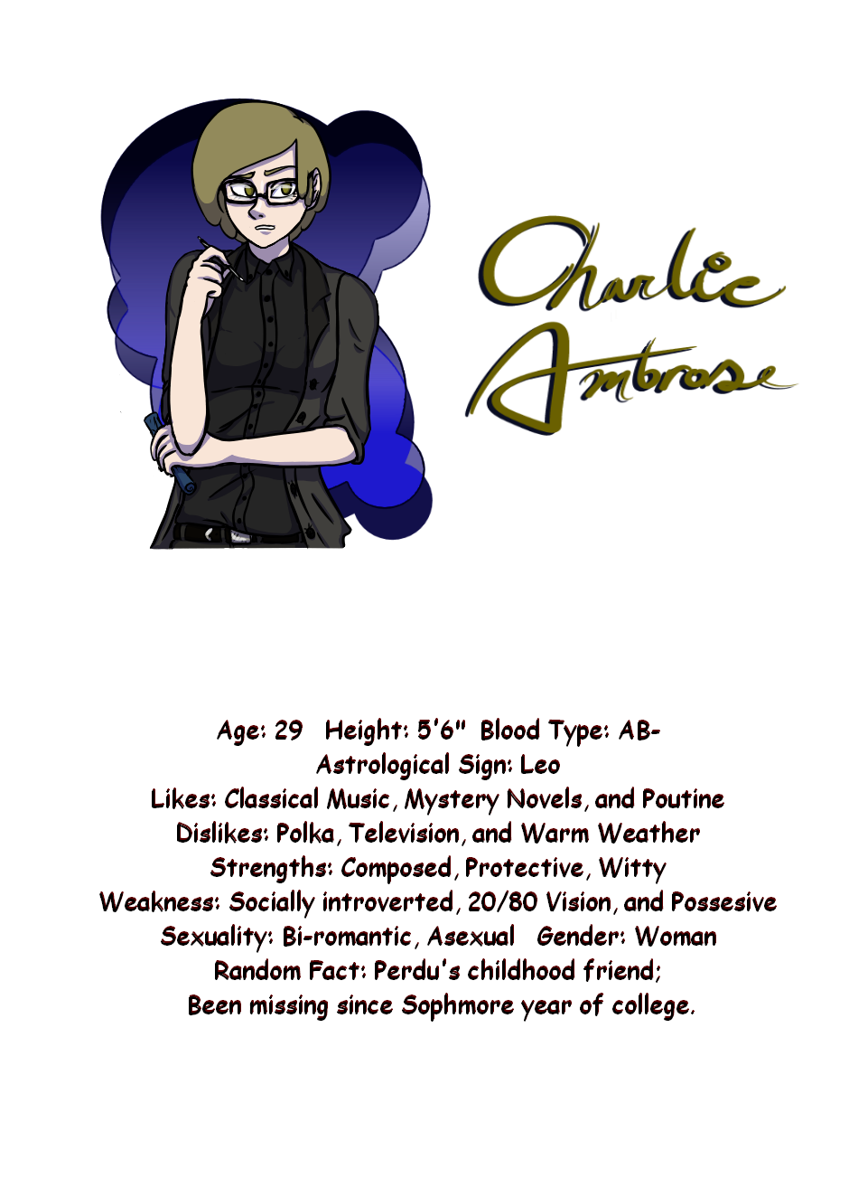 Character Introduction Charlie